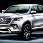 Mercedes-Benz pickup Nissan