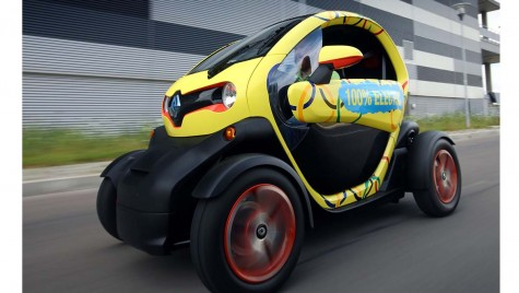 Electric avenue: Renault Twizy