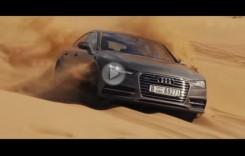Audi A7 Sportback este noul rege al dunelor din Dubai