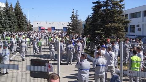 Proteste Dacia pe tema autostrăzii Pitești – Sibiu