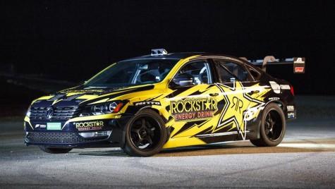 Video: un Volkswagen Passat pentru Formula Drift