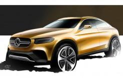 Mercedes-Benz GLC Coupe dezvăluit oficial – TEASER