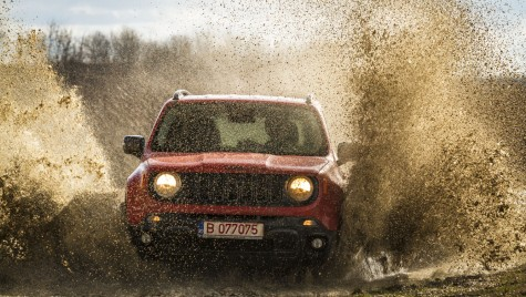 Test noul Jeep Renegade, juniorul gamei