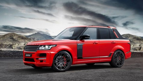 Range Rover transformat în pickup de Startech