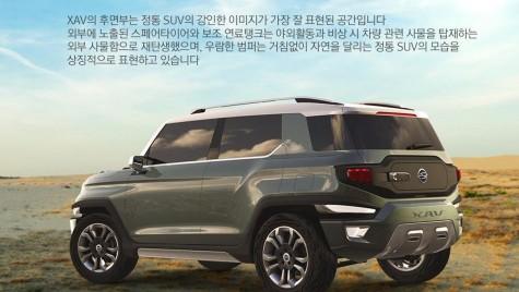 Între timp, în Seul: conceptul Ssangyong XAV