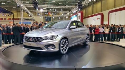 Fiat Aegea este noul sedan compact al casei italiene (Istanbul LIVE)