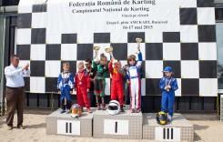 Debut în Campionatul Național de Karting al României