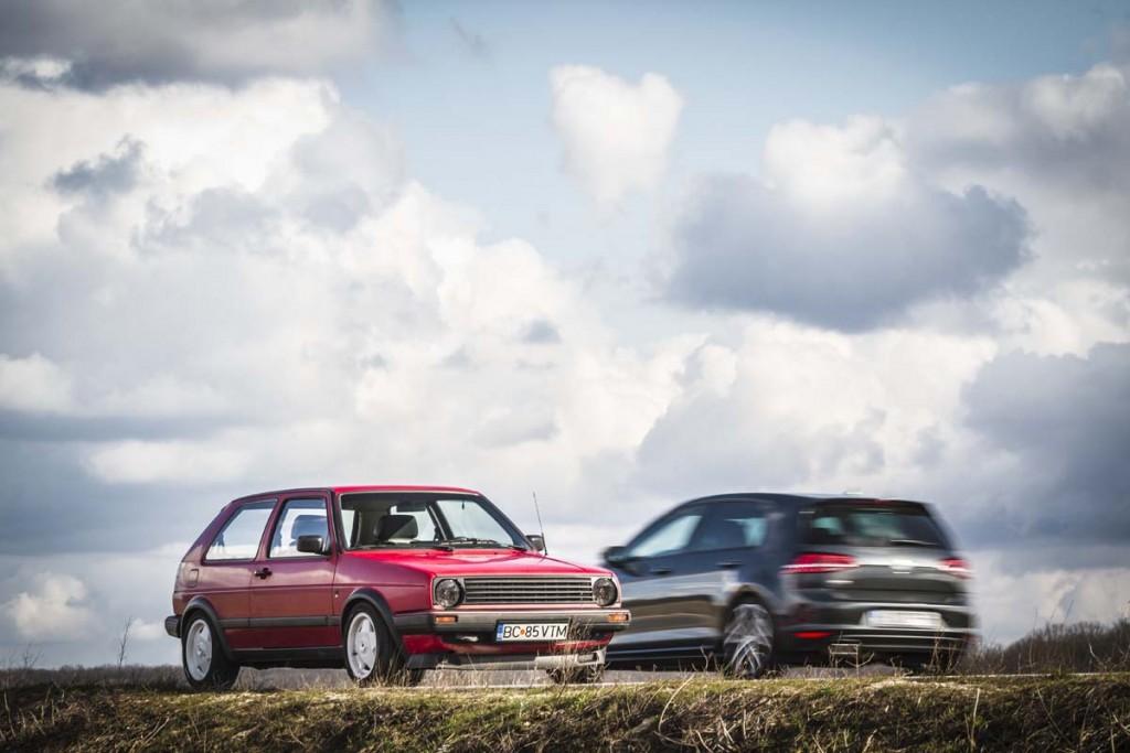 Fascinatie - VW Golf GTD Mk II vs Mk VII (003)