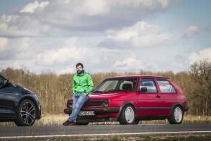 Fascinatie - VW Golf GTD Mk II vs Mk VII (034)