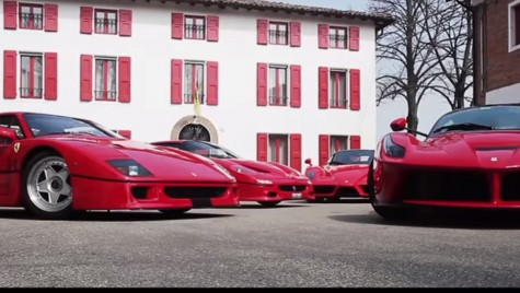 Care este ˝cel mai cel˝ Ferrari din istorie?