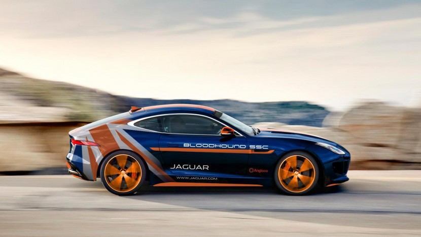 Jaguar F-Type R Bloodhound SSC Rapid Response Vehicle - autoexpert.ro