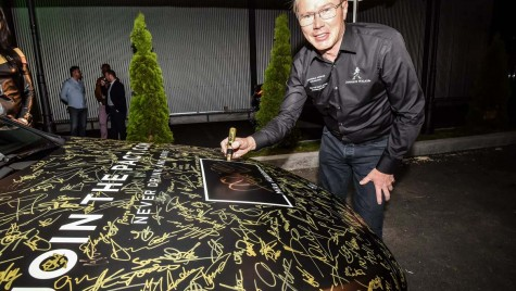 """Mika Hakkinen şi """"Cea mai puternică semnătură din lume"""""""