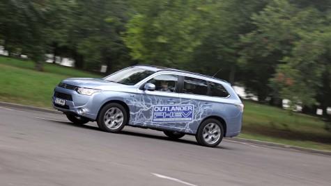 O nouă rețetă: Mitsubishi Outlander PHEV