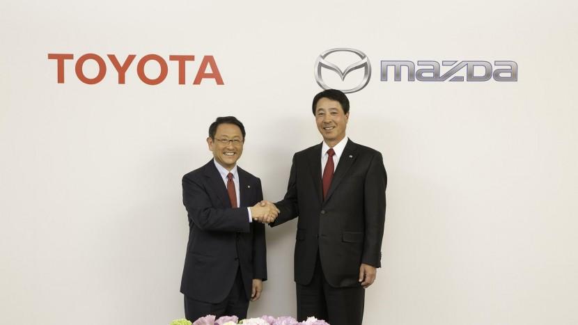 Noua alianta Toyota-Mazda - AEx