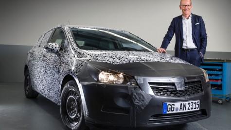 Noul Opel Astra va fi lansat la Frankfurt, va fi complet nou