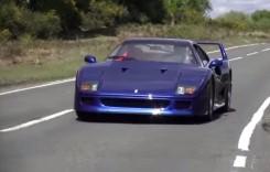 Nici o zi fără sunetul unei evacuări de Ferrari F40