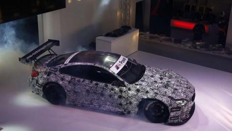 BMW prezintă noua mașină GT3 – are la bază un M6 Coupe