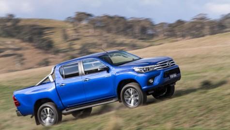 În sfârșit, poze oficiale cu noua Toyota Hilux