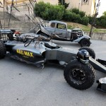 A special Lotus F1 Team car livery to promote the film Mad Max: Fury Road.Spanish Grand Prix, Friday 8th May 2015. Barcelona, Spain.