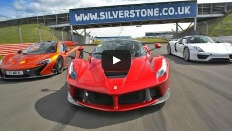 Paul Bailey şi cele 3 minuni moderne: LaFerrari, McLaren P1, Porsche 918 Spyder
