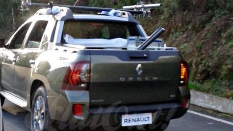 Renault Oroch este fratele brazilian al lui Duster Pick-up