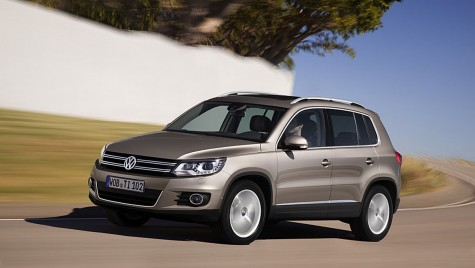 VW Tiguan primește motoare și sisteme infotainment noi