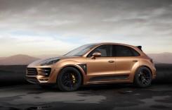 TOPCAR Porsche Macan URSA Aurum – din Rusia, cu aur