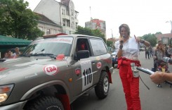 """Echipajul Domide şi Nistor – lideri în prima zi a trofeului """"Paul Badea"""""""