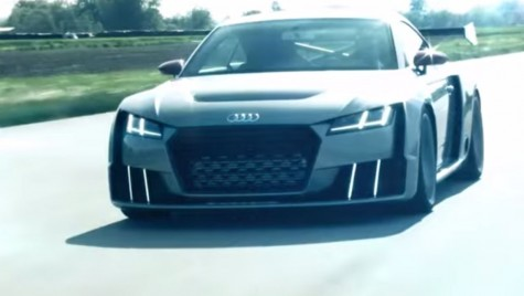 Video: conceptul Audi TT Clubsport Turbo are 610 CP