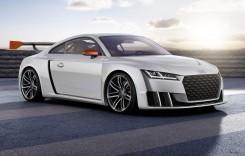 Audi TT Clubsport Quattro Turbo: 600 CP şi turbosuflantă electrică