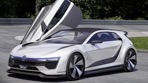 Volkswagen Golf GTE Sport Concept. Golf-ul viitorului are 400 CP