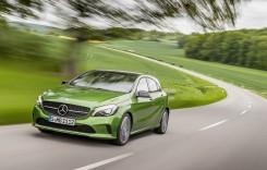 Mercedes Clasa A facelift: tren de rulare adaptiv