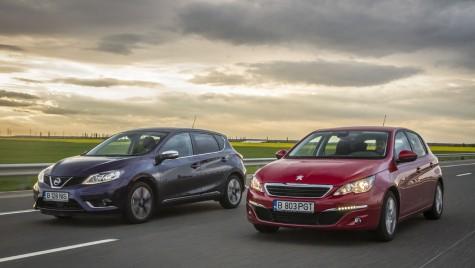Pretendenți – test comparativ Peugeot 308 și Nissan Pulsar