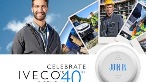40 de ani de excelenţă IVECO