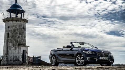 BMW 220d Cabriolet – Nisip în păr