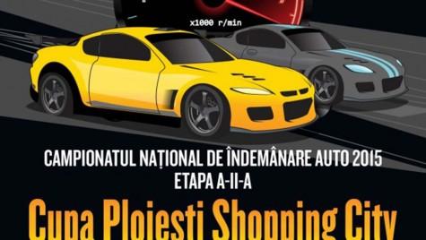 A doua etapă a Campionatului Național de Îndemânare Auto, la Ploieşti Shopping City