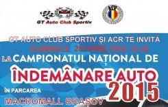 Braşovul găzduieşte etapa a treia a Campionatului Național de Îndemânare Auto 2015