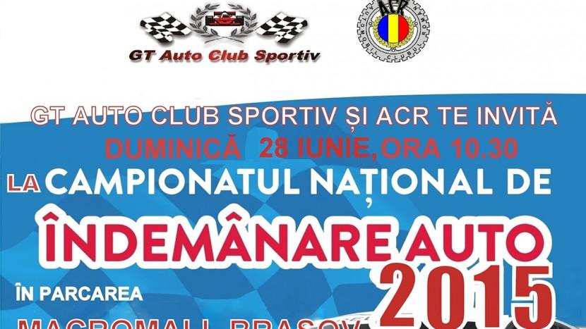 Campionatul Natuional de Indemanare Auto 2015