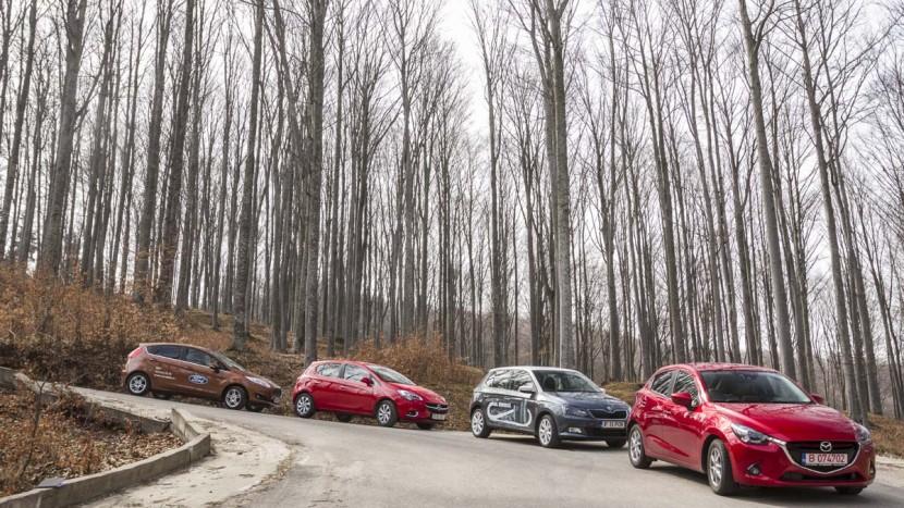 Comparativ AutoExpert - Fiesta-Mazda2-Corsa-Fabia