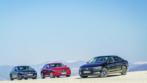 Tot mai sus: comparativ Mazda6 vs Peugeot 508 vs Volkswagen Passat