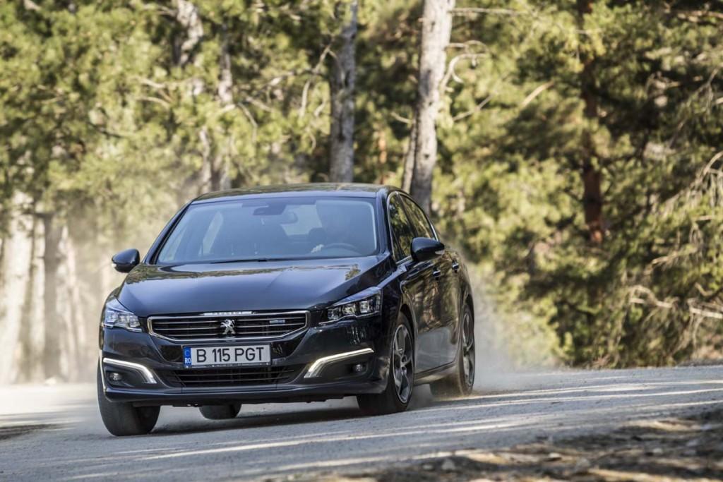 Comparativ AutoExpert - clasa medie - Mazda6 Peugeot 508 VW Passat (013)