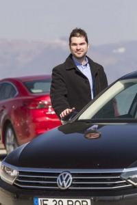 Comparativ AutoExpert - clasa medie - Mazda6 Peugeot 508 VW Passat (041)