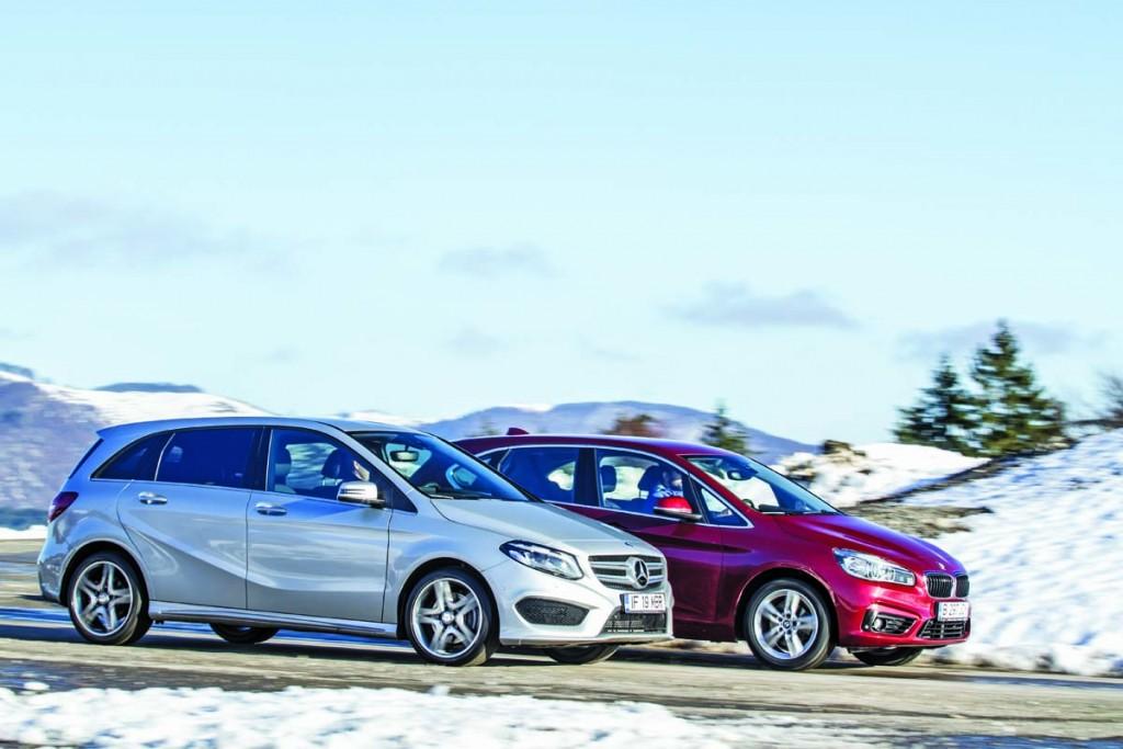 Comparativ BMW Seria 2 Active Tourer vs Mercedes-benz Clasa B - AutoExpert