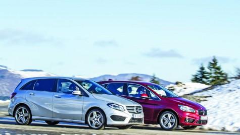 BMW sau Mercedes-Benz? Seria 2 Active Tourer sau Clasa B?