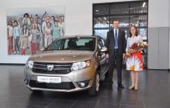 Dacia Logan cu numărul 1.500.000 s-a comercializat în România