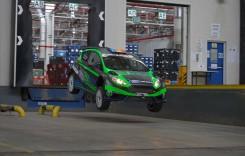 Video spectaculos: Ford EcoBoost şi Simone Tempestini în Gymkhana de Craiova