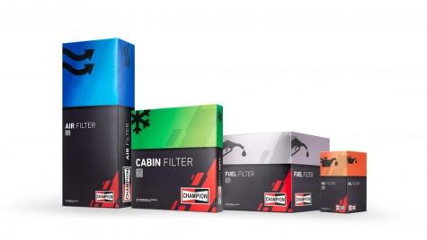 Marca Champion își îmbunătățește gama de filtre auto