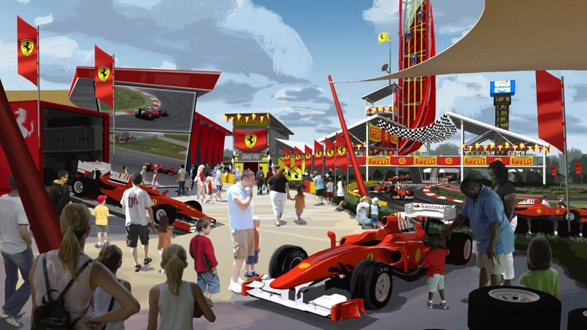 Noul Ferrari Land - Spania - AutoExpert