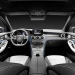 Mercedes-Benz GLC 350e 4MATIC, EDITION 1, Designo Leder Nappa Platinweiß Interieur