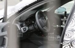 Imagini spion cu interiorul noului Audi A4